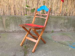 upcyceled chair